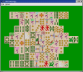 Qt# Mahjongg screenshot - click to enlarge